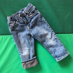 Old Navy Fleece-Lined Jeans